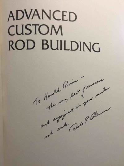 ADVANCED CUSTOM ROD BUILDING. by Clemens, Dale P.