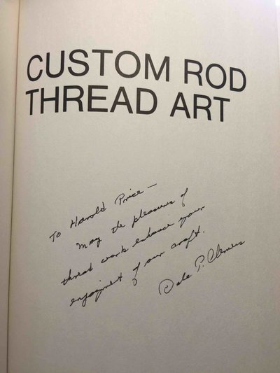 CUSTOM ROD THREAD ART. by Clemens, Dale P.