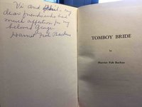 TOMBOY BRIDE by Backus, Harriet Fish