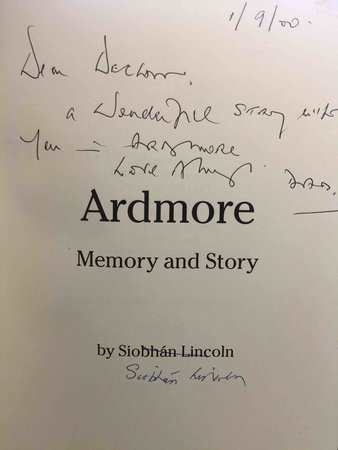 ARDMORE: Memory and Story. by Lincoln, Siobhan.