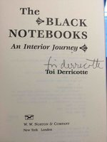 THE BLACK NOTEBOOKS: An Interior Journey. by Derricotte, Toi.