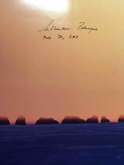 ARCTIC NATIONAL WILDLIFE REFUGE: SEASONS OF LIFE AND LAND: A Photographic Journey. by Banerjee, Subhankar. Peter Matthiessen, Fran Mauer, William H. Meadows and others, contributors.