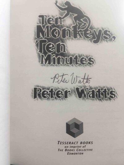 TEN MONKEYS, TEN MINUTES. by Watts, Peter.