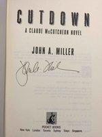 CUTDOWN: A Claude McCutcheon Novel. by Miller, John A.