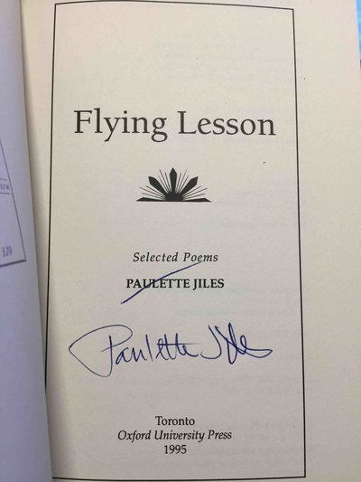 FLYING LESSONS: Selected Poems. by Jiles, Paulette.