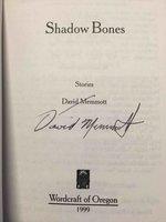 SHADOW BONES. by Memmott, David.