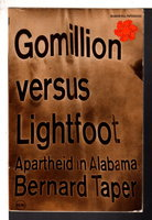 GOMILLION VERSUS LIGHTFOOT. by Taper, Bernard.