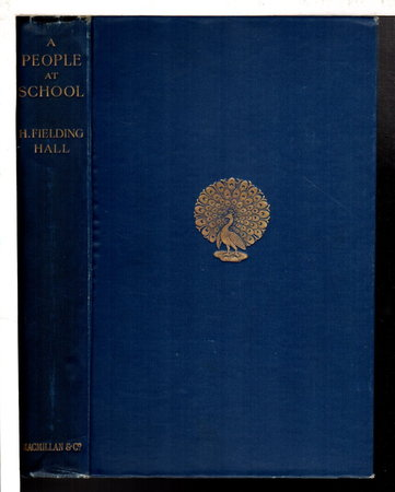 A PEOPLE AT SCHOOL. by Hall, H. Fielding.