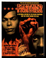 PANTHER: A Pictorial History of the Black Panthers and the Story Behind the Film. by Peebles, Mario Van, Ula Y. Taylor and J. Tarika Lewis.