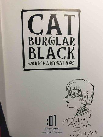CAT BURGLAR BLACK. by Sala, Richard.