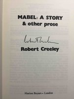 MABEL: A Story and other prose. by Creeley, Robert.