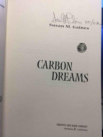 CARBON DREAMS. by Gaines, Susan M.