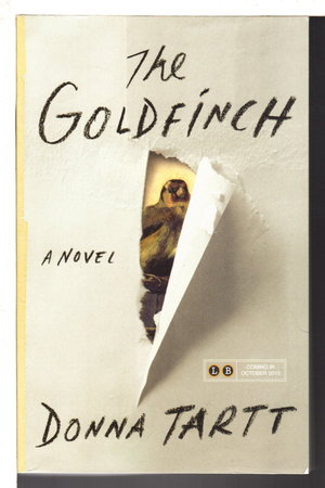 THE GOLDFINCH. by Tartt, Donna.