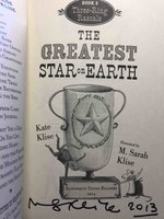 THE GREATEST STAR ON EARTH: Three-Ring Rascals, Book 2. by Klise, Kate.