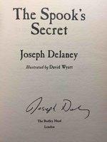 THE SPOOK'S SECRET. by Delaney Joseph.
