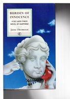 BURDEN OF INNOCENCE. by Thomson, June.