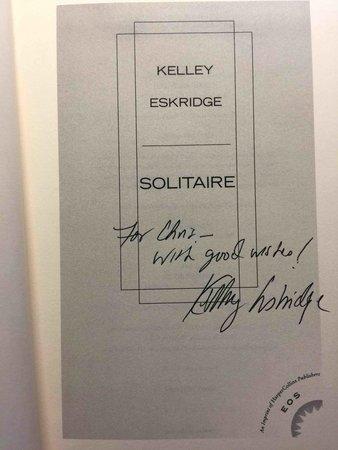 SOLITAIRE. by Eskridge, Kelley.
