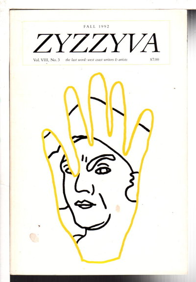ZYZZYVA 31: The Last Word: West Coast Writers and Artists, Volume VIII, Number 3, Fall 1992. by Junker, Howard, editor. Charles Johnson, signed.