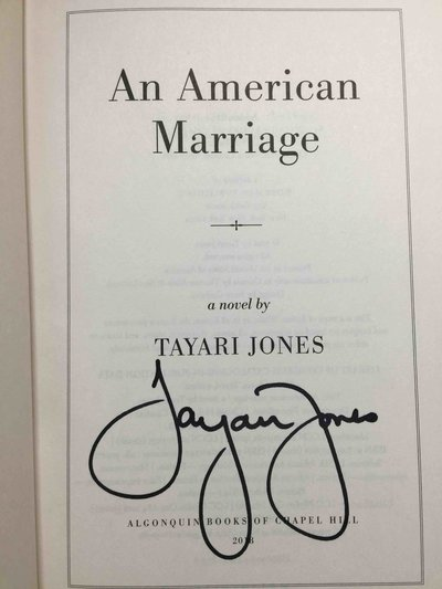 AN AMERICAN MARRIAGE. by Jones, Tayari.