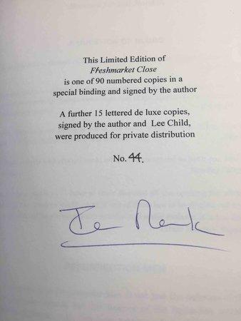 FLESHMARKET CLOSE. by Rankin, Ian. Appreciation by Lee Child.