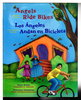 Another image of ANGELS RIDE BIKES AND OTHER FALL POEMS / LOS ANGELES ANDAN BICICLETAS. by Alarcon, Francisco X.; Maya Christina Gonzalez, illustrator.