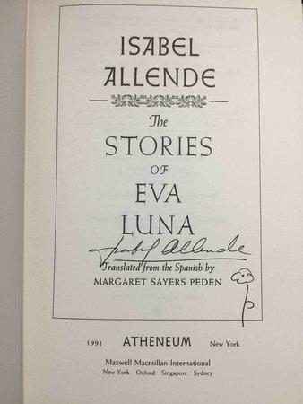 THE STORIES OF EVA LUNA. by Allende, Isabel