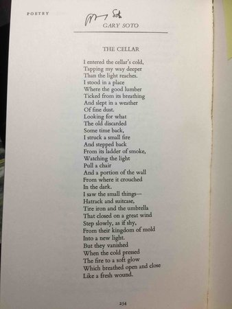 POETRY, Volume CXXIX (129) Number 5, February 1977. by Hine, Darryl , editor. Gary Soto, signed.