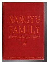 NANCY'S FAMILY: Life and the Living of It Discussed in Letters. by Brown, Nancy, editor..