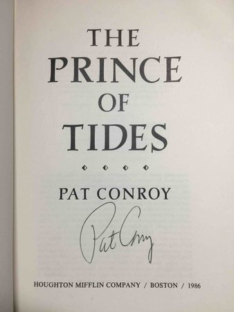 PRINCE OF TIDES. by Conroy, Pat.