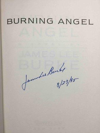 BURNING ANGEL by Burke, James Lee