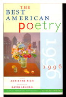 THE BEST AMERICAN POETRY 1996. by [Anthology] Rich, Adrienne & Lehman, David, editors.