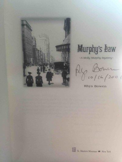 MURPHY'S LAW. by Bowen, Rhys.