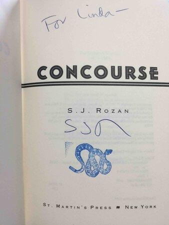 CONCOURSE. by Rozan, S. J.