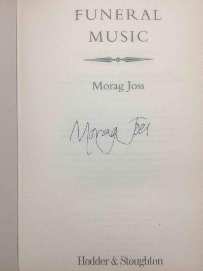FUNERAL MUSIC. by Joss, Morag.