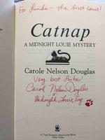 CATNAP: A Midnight Louie Mystery. by Douglas, Carole Nelson.