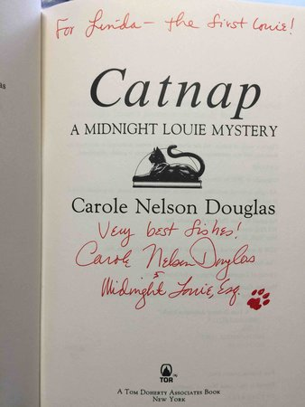 CATNAP: A Midnight Louie Mystery. by Douglas, Carole Nelson.