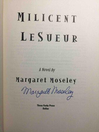 MILICENT LE SUEUR. by Moseley, Margaret.