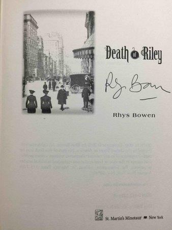 DEATH OF RILEY. by Bowen, Rhys.