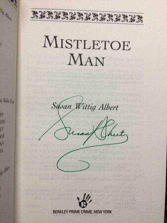 MISTLETOE MAN. by Albert, Susan Wittig