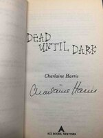 DEAD UNTIL DARK. by Harris, Charlaine.
