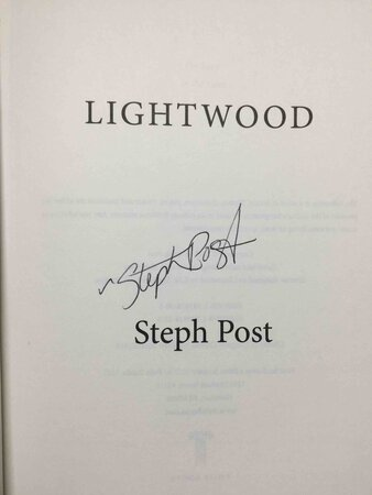 LIGHTWOOD. by Post, Steph.