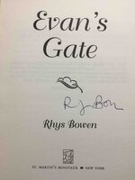 EVAN'S GATE. by Bowen, Rhys.