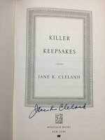 KILLER KEEPSAKES. by Cleland, Jane K.