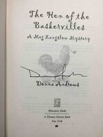 THE HEN OF THE BASKERVILLES: A Meg Langslow Mystery. by Andrews, Donna.