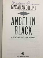 ANGEL IN BLACK. by Collins, Max Allan.