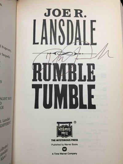RUMBLE TUMBLE. by Lansdale, Joe R.