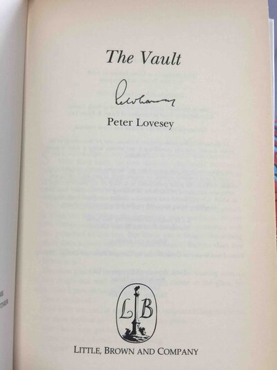 THE VAULT. by Lovesey, Peter,