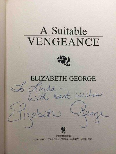 A SUITABLE VENGEANCE by George, Elizabeth.