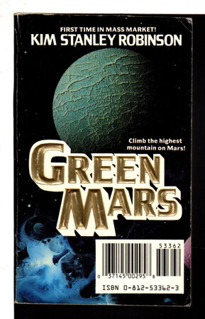 GREEN MARS / A MEETING WITH MEDUSA. Tor Double #1. by Robinson. Kim Stanley and Arthur C. Clarke.