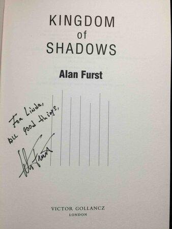 KINGDOM OF SHADOWS. by Furst, Alan.